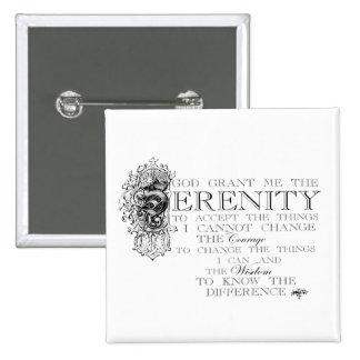Serenity Prayer Pins