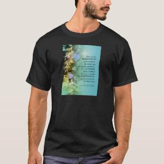 Serenity Prayer Campanulas Spanish T-Shirt
