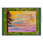 Serenity Prayer Card