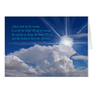 Serenity prayer card1nf card