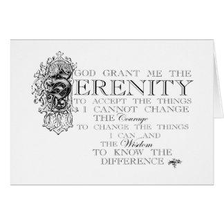 Serenity Prayer Cards