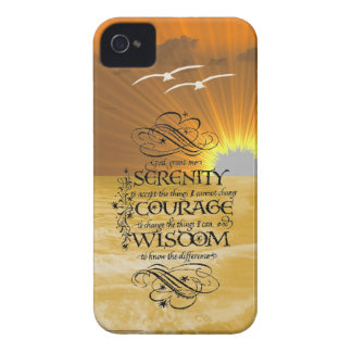 Serenity Prayer iPhone 4 Cover