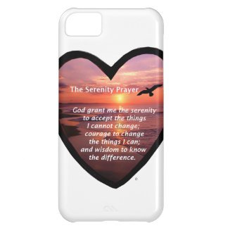 Serenity Prayer Cover For iPhone 5C
