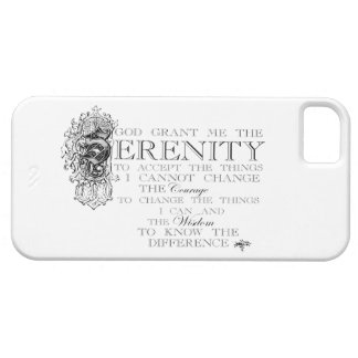 Serenity Prayer iPhone 5 Cases