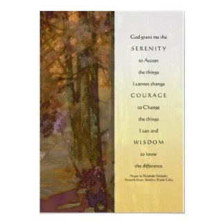 Serenity Prayer Cedars Card