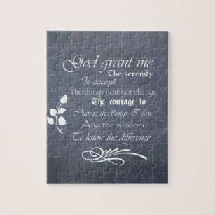 serenity prayer chalkboard gifts trendy vintage jigsaw puzzle