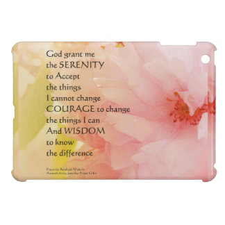 Serenity Prayer Cherry Blossom Glow Cover For The iPad Mini