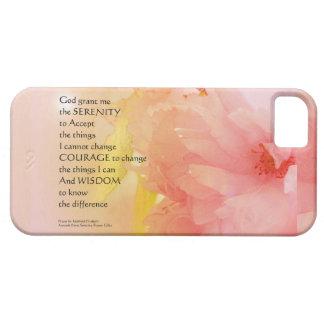 Serenity Prayer Cherry Blossom Glow iPhone SE/5/5s Case