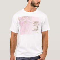 Serenity Prayer Cherry Blossoms T-Shirt