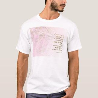 Serenity Prayer Cherry Blossoms T-Shirt