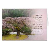 Serenity Prayer Cherry Tree One