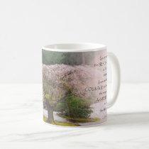 Serenity Prayer Cherry Tree One Coffee Mug