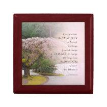 Serenity Prayer Cherry Tree One Gift Box