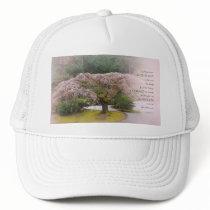 Serenity Prayer Cherry Tree One Trucker Hat