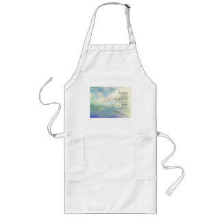 Serenity Prayer Clouds and Highway Long Apron