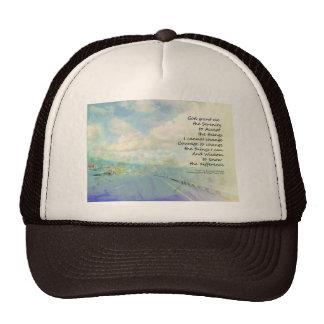 Serenity Prayer Clouds and Highway Trucker Hat