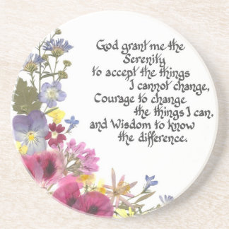Serenity Prayer Drink Coasters