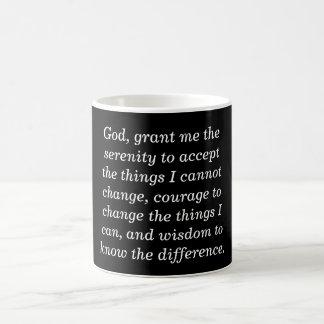 Serenity prayer - coffee mug