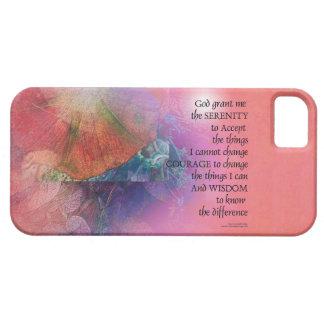 Serenity Prayer Collage Orange Pink iPhone SE/5/5s Case