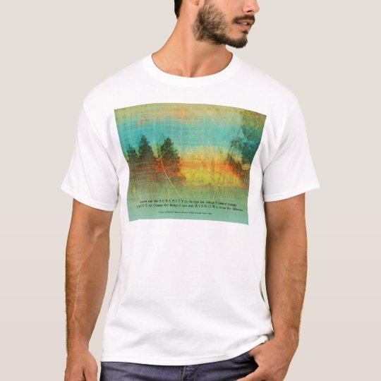 Serenity Prayer Colorful Trees T-Shirt