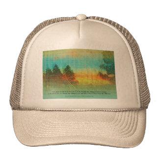 Serenity Prayer Colorful Trees Trucker Hat