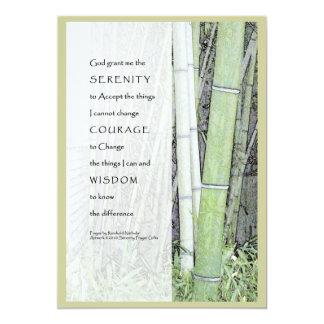 Serenity Prayer Custom Invitation