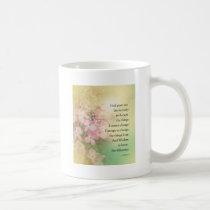Serenity Prayer Dogwood Glow Coffee Mug