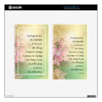 Serenity Prayer Dogwood Glow Decal For Kindle Fire