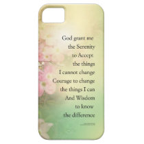 Serenity Prayer Dogwood Glow iPhone SE/5/5s Case