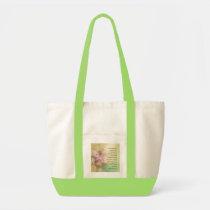 Serenity Prayer Dogwood Glow Tote Bag
