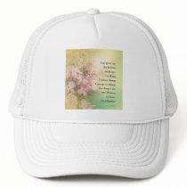 Serenity Prayer Dogwood Glow Trucker Hat