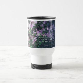 Serenity Prayer Dogwood 15 Oz Stainless Steel Travel Mug