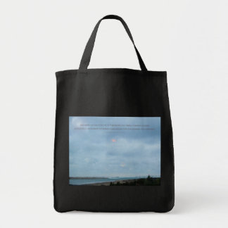 Serenity Prayer Driftwood Shores Tote Bag