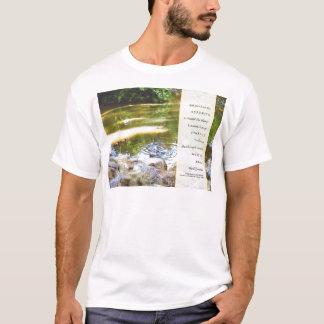 Serenity Prayer Duck Pond Reflections T-Shirt