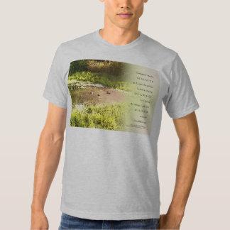 Serenity Prayer Duck Pond T Shirt