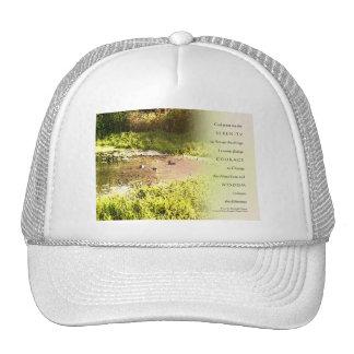 Serenity Prayer Duck Pond Trucker Hats