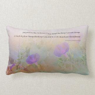 Serenity Prayer Floral American MoJo Pillows