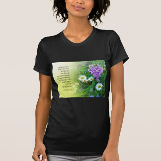 Serenity Prayer Flower Garden T-Shirt
