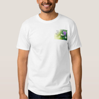 Serenity Prayer Flower Garden T Shirt