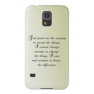 Serenity Prayer Galaxy S5 Cover