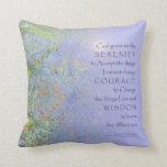 Serenity Prayer Garden RocksAmerican MoJo Pillo Pillows