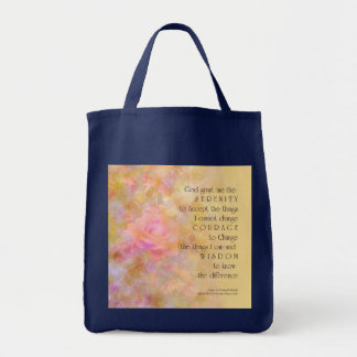 Serenity Prayer Gentle Rose Bag