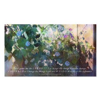 Serenity Prayer Glories Business Card