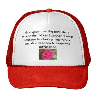 Serenity Prayer Trucker Hats