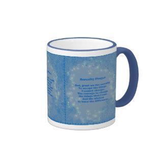 Serenity Prayer Hearts Inspirational Mug