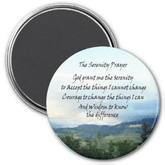 Serenity Prayer Hills Magnet