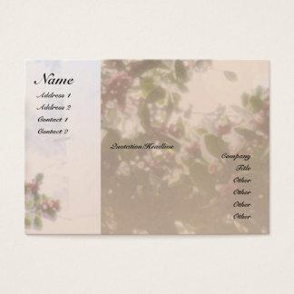 Serenity Prayer Holly Profile Card