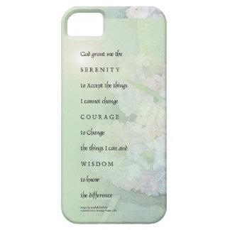 Serenity Prayer Hyacinths Blend iPhone SE/5/5s Case