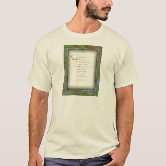 Serenity Prayer Illuminated 2 T-Shirt
