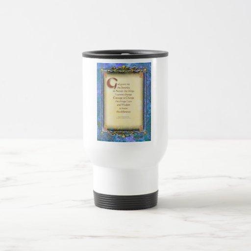 Serenity Prayer Illuminated 3 Mug